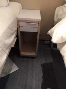 Nightstand, which does not include a small drawer