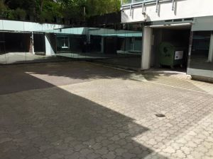 The execution courtyard