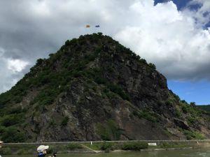 The famous Lorelei rock