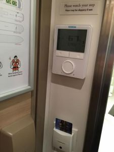 AC Control and Electricity Key Card Slot