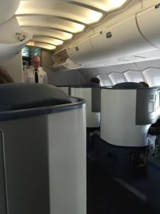 Upper-deck for the front part of business class